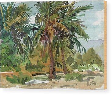 Palm Wood Prints