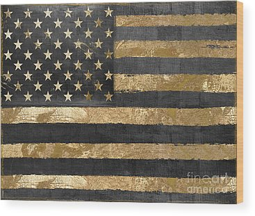 Star Spangled Banner Wood Prints