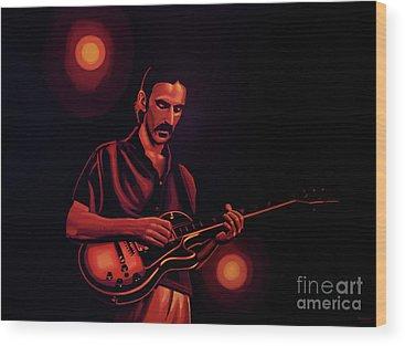 Frank Zappa Wood Prints