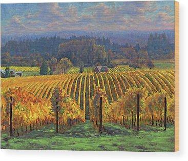 Grape Wood Prints