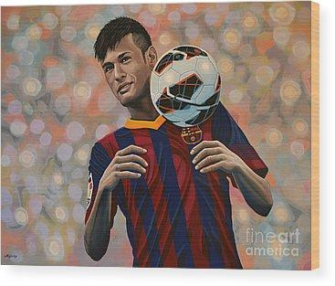 Cristiano Ronaldo Wood Prints