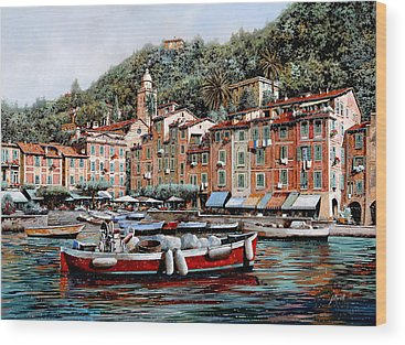 Portofino Wood Prints