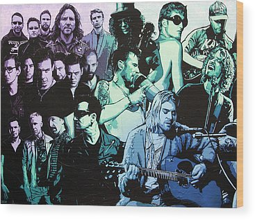 Stone Temple Pilots Wood Prints