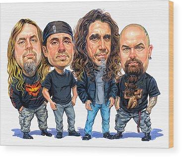 Jeff Hanneman Wood Prints
