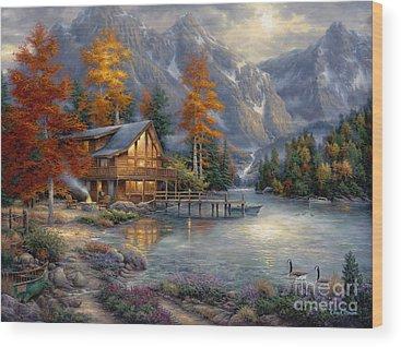 Goose Wood Prints