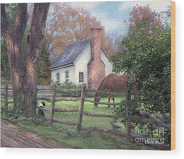 Farmhouse Wood Prints