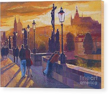 Promenades Wood Prints