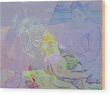 Woman Wood Prints