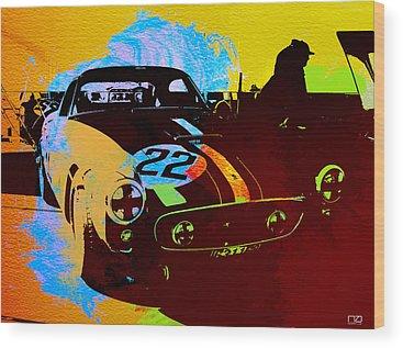 Car Show Wood Prints