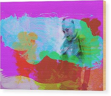 Gwen Stefani Wood Prints