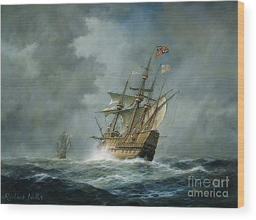 Ship Wood Prints
