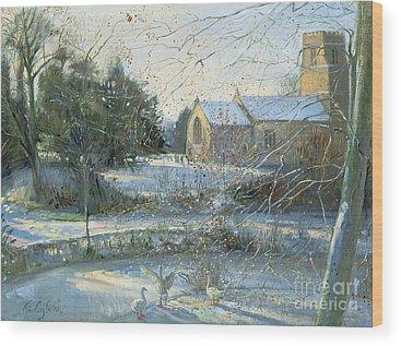 Church Yard Wood Prints