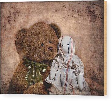 Teddy Bears Wood Prints