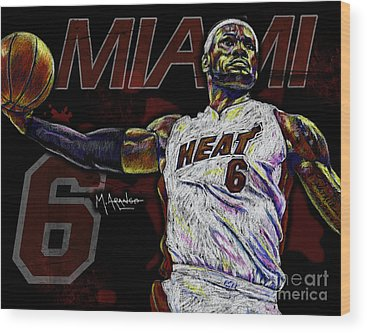 Cleveland Cavaliers Wood Prints