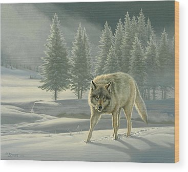 Yellowstone Wood Prints