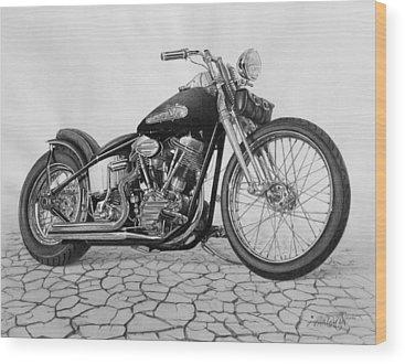 Motorcycle Wood Prints