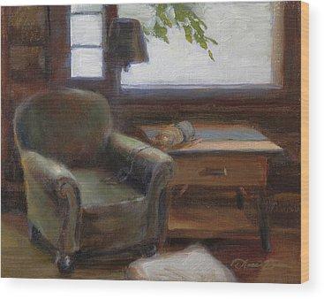 Old Log Cabin Wood Prints