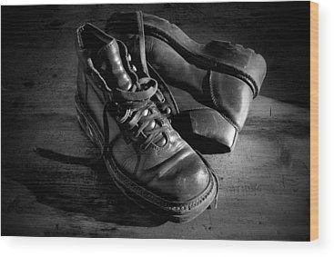 Shoe Wood Prints