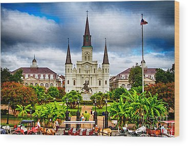 New Orleans Wood Prints