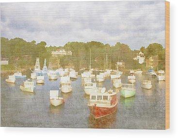 Perkins Cove Wood Prints