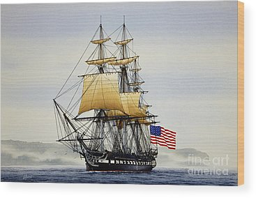 Tall Ships Wood Prints