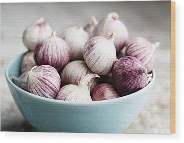 Garlic Wood Prints