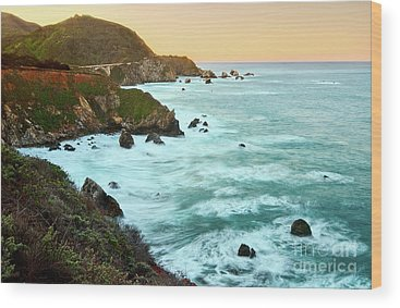 Central California Wood Prints