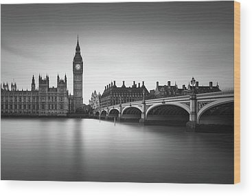 House Of Parliament Wood Prints