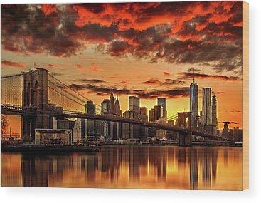Manhattan Wood Prints