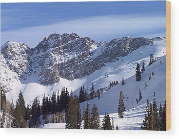 Wasatch Mountains Wood Prints