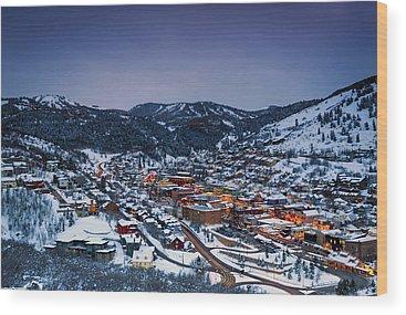 Park City Utah Wood Prints