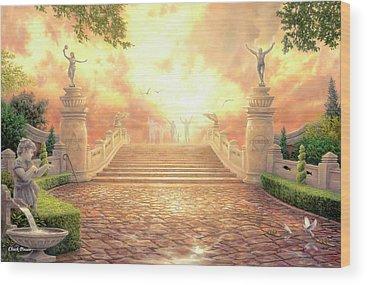 Heaven Wood Prints