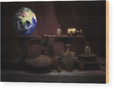 Weight Of The World Wood Prints
