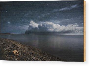Skeleton Coast Wood Prints