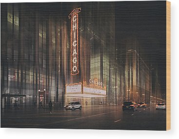 Live Theater Wood Prints