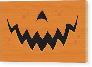Pumpkin Wood Prints