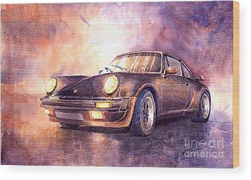 Auto Wood Prints