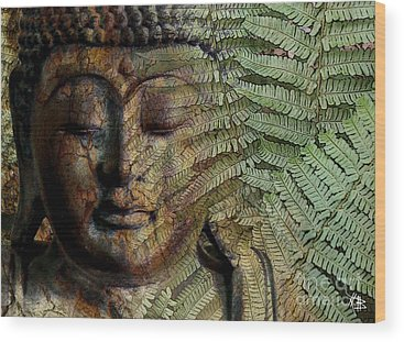 Buddhism Wood Prints
