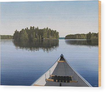 Canada Wood Prints