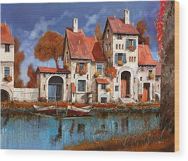 Village Wood Prints