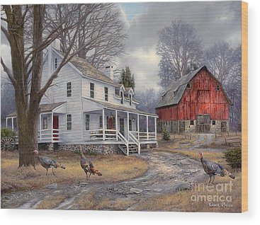 Nostalgic Wood Prints