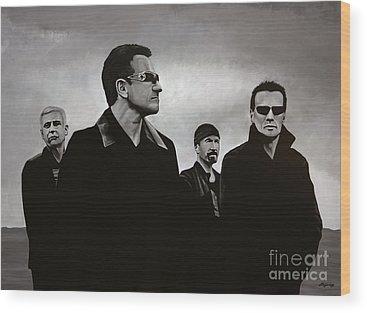 U2 Wood Prints