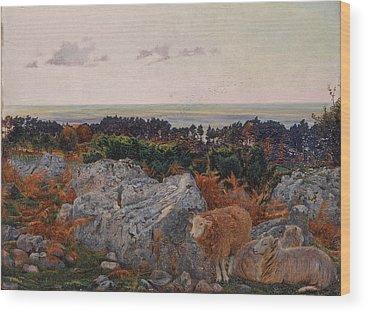 Morecambe Wood Prints