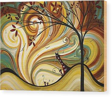 Urban Landscape Wood Prints