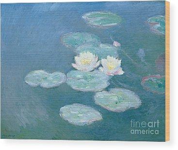 Monet Wood Prints