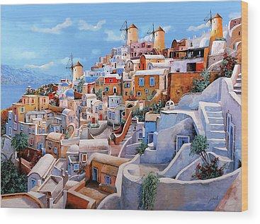 Mediterranean Wood Prints