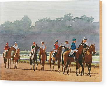 Racing Wood Prints