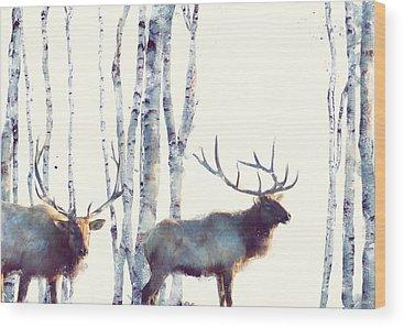 Nature Wood Prints