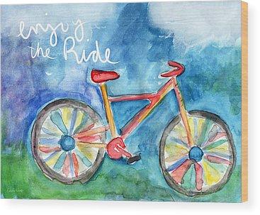 Ride Wood Prints