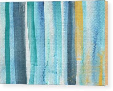 Surf Wood Prints